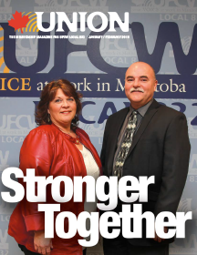 In the January/ February issue of UNION: