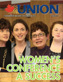 In the June 2010 Issue of UNION: