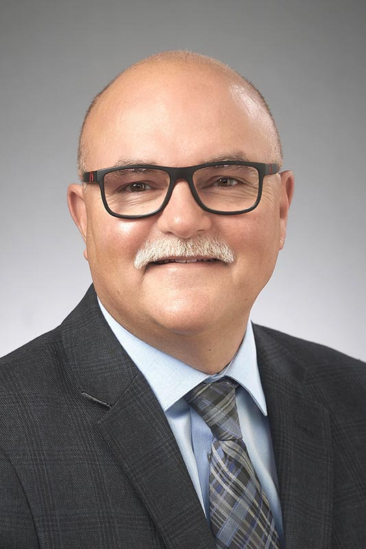 Portrait photo of Jeff Traeger, UFCW Local 832 President