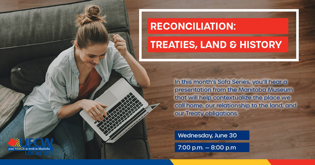 Sofa series: Reconciliation - treaties, land and history