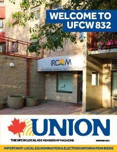 In the 2021 Summer issue of UNION